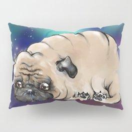 Celestial Pug Pillow Sham