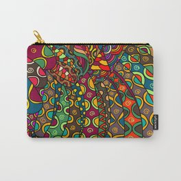 African Style No13, Tribal dance Carry-All Pouch