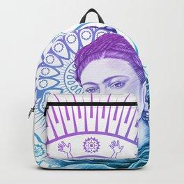 Frida Kahlo Feminist Bravery Backpack