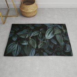 Texture Plants - Dark Green Rug