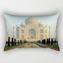 Taj Mahal Rectangular Pillow