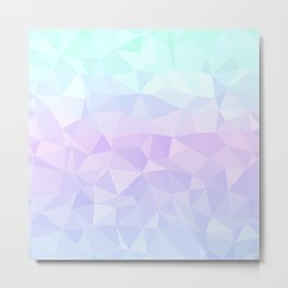 Cool Pastels - Flipped Metal Print