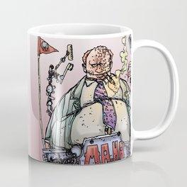 LOVE ME LIKE A PSYCHO ROBOT - MA HA RULES Coffee Mug