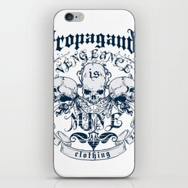 Vengeance is ours iPhone Skin