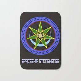 Spaceship Stonehenge 2 Bath Mat
