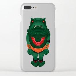 Cute Leech Clear iPhone Case