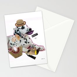 Beauty up, b... Stationery Cards