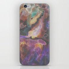 Neon Night Watercolor iPhone & iPod Skin