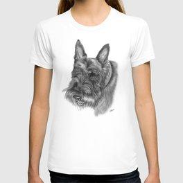 Scottish Terrier Drawing T-shirt