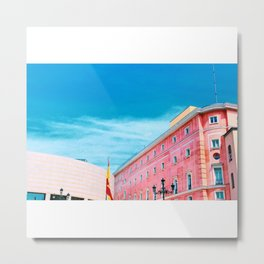 Madrid Rooftops Metal Print