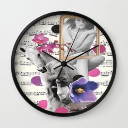 Escape your fears Wall Clock