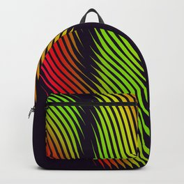 psychedelic cactus Backpack