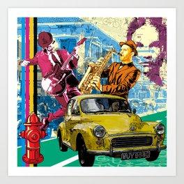 urban night Art Print