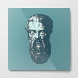 Heraclitus Metal Print
