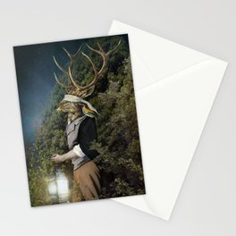 Don`t Be Afraid Of The Dark (Blue Edition) Stationery Cards