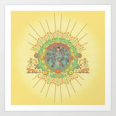 Open Your Conscious.  Art Print