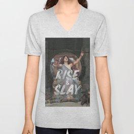 Rise and Slay Unisex V-Neck