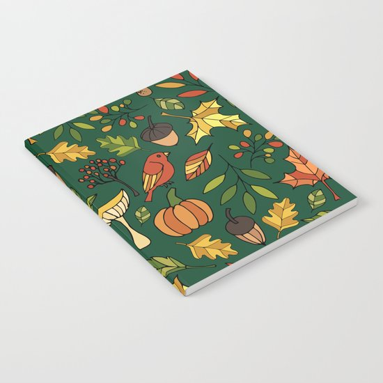 Bright autumn Notebook