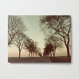 there is this undiscovered space, 3 Metal Print