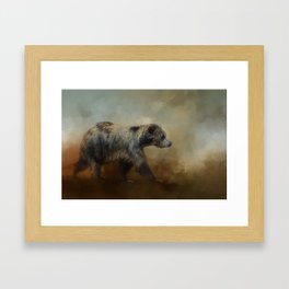 The Long Walk Home Framed Art Print
