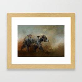 The Long Walk Home Framed Art Print