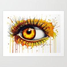 -Soul fire- Art Print