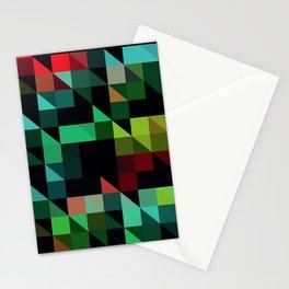 Diagonal Stripes Stationery Cards