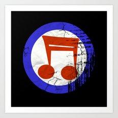 Music Mod Art Print