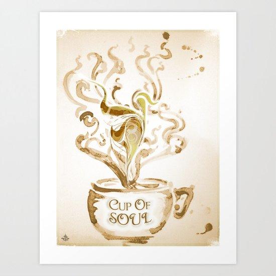 Cup Of Soul Art Print
