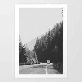 ROAD TRIP / Canada Art Print