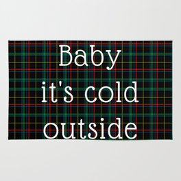 It's Cold Outside Rug