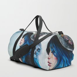 Blue Valentine Duffle Bag