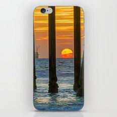 HB Melting Sun iPhone & iPod Skin