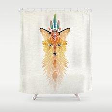 fox spirit  Shower Curtain