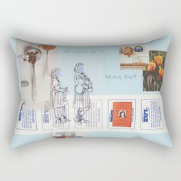 being right Rectangular Pillow