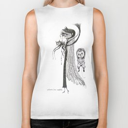 welcome home annabelle Biker Tank