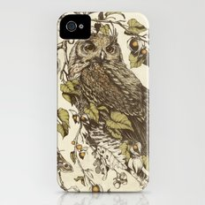 Great Horned Owl Slim Case iPhone (4, 4s)