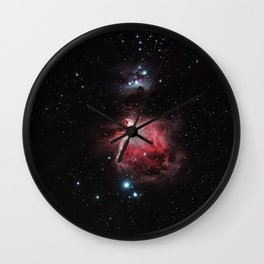 The Great Nebula in Orion Wall Clock