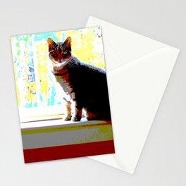 Pop Art Kitty Stationery Cards