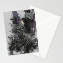 master chief Stationery Cards