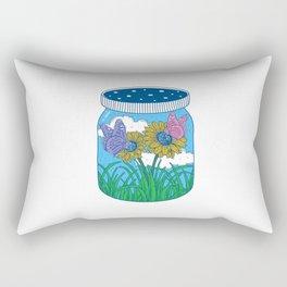 Little jar of happiness Rectangular Pillow