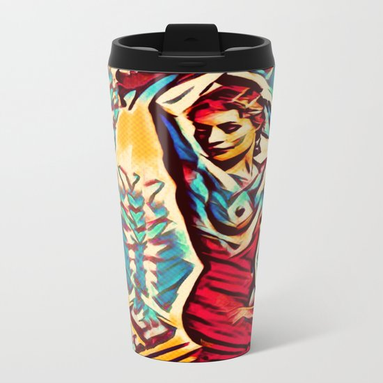 Away From The Past Metal Travel Mug