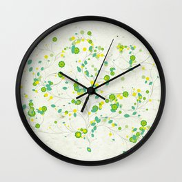 Seasons MMXIV - Spring Wall Clock
