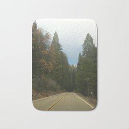 Sequoia National Park- Road Bath Mat