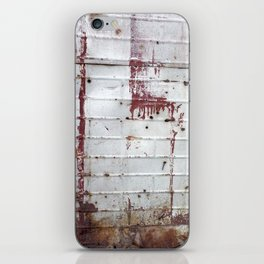 Rust and Red iPhone Skin