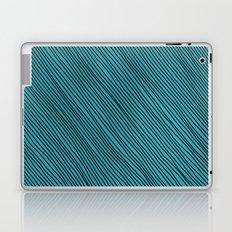 Stripes - turchese Laptop & iPad Skin