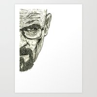 breaking bad Art Prints featuring Breaking Bad by Adam McDade