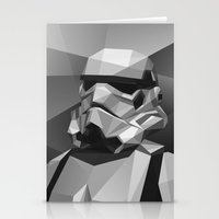 stormtrooper Stationery Cards featuring Stormtrooper by Filip Peraić