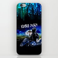 discount iPhone & iPod Skins featuring Bikers Church Discount by Paint-Shack Design