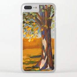 Love Transformed Clear iPhone Case